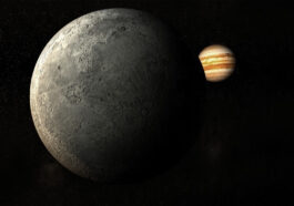 měsíc a planeta