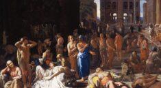 mor v athénách