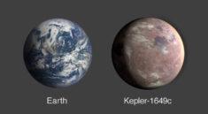 Země a Kepler-1649c