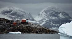 základna na Antarktidě